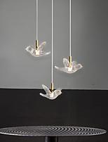 cheap -LED Pendant Light Modern Nordic Bird Design Bedside Light Copper Metal Lights Living Room Bedroom Kitchen Dining Room Light Bird Acrylic Lampshade Warm White Cool White 2W 160LM