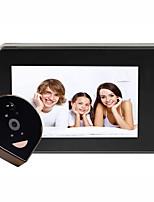 cheap -4.3 inch Security Camera Doorbell Intercom Viewer Wireless  WiFi Phone Remote Peephole Video Door Long Standby Night Home