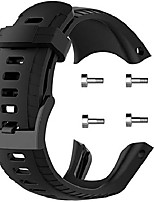 cheap -Smartwatch band compatible for suunto 5 watch band, classic sport band silicone replacement accessories bracelets compatible for suunto 5