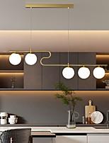 cheap -LED Pendant Light 80 cm Lantern Desgin Chandelier Metal Painted Finishes Modern 220-240V