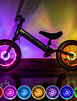 cheap -LED Bike Light Lamp LED Bicycle Cycling Waterproof Super Bright Durable Rechargeable Li-Ion Battery / USB Camping / Hiking / Caving Everyday Use Cycling / Bike / IPX 6