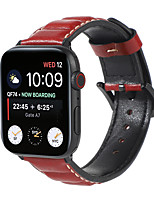 cheap -Smart Watch Band for Apple iWatch 1 pcs Classic Buckle Genuine Leather Replacement  Wrist Strap for Apple Watch Series SE / 6/5/4/3/2/1