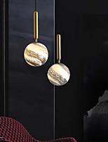 cheap -LED Pendant Light Planet Design Bedside Light Modern Gold Globe Design 15 cm Metal Electroplated 110-120V 220-240V