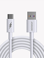 cheap -Joyroom USB C Cable High Speed Quick Charge 5 A 1.0m(3Ft) TPE For Samsung Xiaomi Huawei Phone Accessory