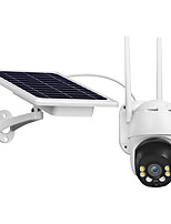 cheap -Outdoor Wireless WiFi IP Camera Waterproof 1080P Pan Tilt Security Camera Solar Battery Powered  Surveillance Camera