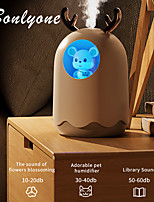 cheap -300ML Fashion Home Fogger Aromatherapy Essential Oil Diffuser LED Night Light Cute Pet Air Humidifier Aroma Diffuser