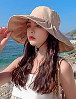 cheap -Sun Hat Hiking Hat Summer Outdoor Sun Protection Breathable Sweat wicking Hat Pink-1 Black-2 Yellow-3 for