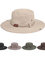 cheap -Sun Hat Hiking Hat Summer Outdoor Sun Protection Breathable Sweat wicking Hat Black Army Green Beige for