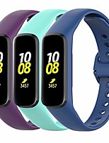 cheap -Smart watch band 3-pack wristbands compatible with samsung galaxy fit 2 sm-r220 wristband, soft silicone, sports replacement wristband for galaxy fit 2 sm-r220 fitness tracker