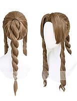 cheap -xingwang queen anime cosplay wig long brown braided women girls' party wigs