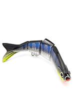 cheap -1 pcs Fishing Lures Hard Bait lifelike 3D Eyes 4 Segment Bass Trout Pike Lure Fishing / ABS