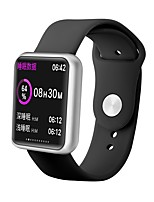 cheap -P68S Smartwatch Fitness Running Watch Bluetooth 1.3 inch Screen IP68 Heart Rate Monitor Blood Pressure Measurement Body Temperature Test ECG+PPG Pedometer Call Reminder 42mm Watch Case for Android iOS
