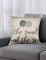 cheap -Simple Words Double Side Cushion Cover 1PC Soft Decorative Square  Pillowcase for Sofa bedroom Car Chair Superior Quality Outdoor Cushion Patio Throw Pillow Covers for Garden Farmhouse Bench Couch