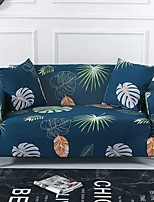 cheap -Green Leaves Print Dustproof All-powerful Slipcovers Stretch Sofa Cover Super Soft Fabric Couch Cover with One Free Boster Case(Chair/Love Seat/3 Seats/4 Seats)
