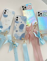cheap -Phone Case For Apple Back Cover iPhone 12 Pro Max 11 SE 2020 X XR XS Max 8 7 Shockproof Dustproof Color Gradient Animal TPU