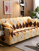 cheap -Years Simple life Sofa Cover 1-Piece Couch Cover Fit for 1-4 Seater L-shape Couch Soft Stretch Slipcover Spandex Jacquard Fabric Easy to Install(1 Free Cushion Cover)