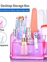 cheap -Make Up Organizer Box Cosmetic Organizer Transparent Fashion Spin Multi-Function Detachable Acrylic