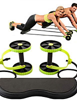 cheap -# Ab Wheel Roller Abdominal Workout Equipment with Flexible Core Training Stretching TPE PP (Polypropylene) EVA for Yoga Fitness Gym Workout Waist Upper Arm Leg / Teenager