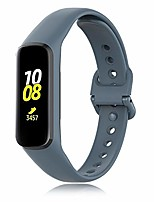 cheap -Smart watch band  bracelet compatible with samsung galaxy fit2 sm-r220, silicone replacement strap for samsung galaxy fit2 sm-r220 smartwatch men bracelets (gray)