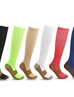 cheap -10 Pairs Copper Fiber Compression Socks Outdoor Sports Running Cycling Socks Nylon Compression Socks Miracle Socks