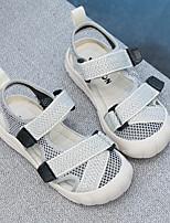 cheap -Girls' Sandals Comfort Canvas Little Kids(4-7ys) Big Kids(7years +) Daily Black Pink Beige Summer