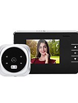 cheap -1080P high-definition doorbell intelligent visual peephole electronic peephole doorbell C12 with internal memory