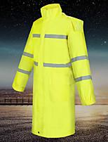 cheap -Women's Men's Rain Poncho Rain Jacket Scandinavian Raincoats Autumn / Fall Winter Spring Summer Outdoor Quick Dry Lightweight Breathable Reflective Strips Poncho Top Hunting Fishing Climbing