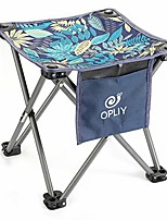 """cheap -camping stool,portable folding stool 13.5 inch camp stool for camping fishing hiking gardening and beach, camping seat with carry bag (blue -leaf, l 13.5"""")"""