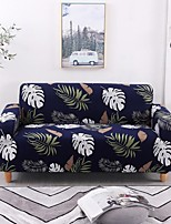 cheap -Leaves Print Dustproof All-powerful Slipcovers Stretch Sofa Cover Super Soft Fabric Couch Cover with One Free Boster Case(Chair/Love Seat/3 Seats/4 Seats)