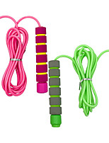 cheap -Skipping Rope – Jump Rope For Kids Girls & Boys – Soft Handled Best for All Ages Children Workout Equipment – Indoor and Outdoor Fitness Games for Student Exercise & Health, 2 Pack