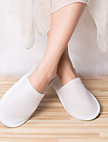cheap -6Pairs Disposable Slippers Closed Toe Disposable Slippers Fit Size for Men and Women for Hote Spa Guest Used