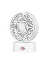 cheap -2000mAh USB Rechargeable 270 Degree Vibration Desk Fan 3 Shaking Head Table Fan for Home Office Outdoor Dormitory