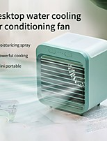 cheap -mini air cooler fan usb water-cooled air conditioner portable desktop evaporative humififier purifier for summer home office