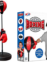 cheap -Punching Bag and Boxing Gloves Set for Kids, Freestanding Base Punching Ball with Adjustable Stand, Junior Boxing Gloves, and Hand Pump
