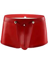cheap -Men's 1 PC Basic Boxers Underwear / Briefs Underwear Low Waist White Black Red M L XL
