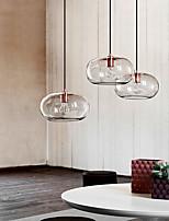 cheap -LED Pendant Light 30 cm Single Design Pendant Light Glass Electroplated Artistic Nordic Style 110-240 V