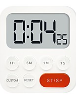 cheap -Kitchen Stopwatch Magnetic Clock Timer Large Screen Digital Display Countdown Loud Time 67JE