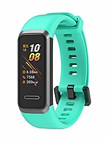 cheap -smartwatch band compatible for huawei 4 smart smartwatch band fitness tracker replacement wristband, soft sports silicone wristband replacement wristband does not include fitness tracker (a)