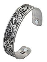 cheap -dawapara pagan yggdrasil tree of life norse mythology magnetic health cuff bracelet men women jewelry