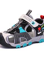 cheap -Boys' Sandals Sports & Outdoors School Shoes Mesh Little Kids(4-7ys) Big Kids(7years +) Daily Beach Walking Shoes Blue Orange Summer / Rubber