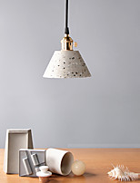 cheap -LED Pendant Light Bedside Light Black White Pink 15 cm Single Design Ceramic Painted Finishes Modern Nordic Style 110-240 V