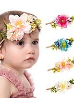 cheap -Kids / Toddler Girls' Cross-Border Color Simulation Flower Baby Nylon Hair Band