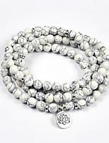 cheap -yoga white pine bracelet jewelry bracelet lotus rosary bracelet