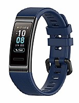 cheap -Smart watch band bracelet compatible with huawei band 3 pro / 4 pro bracelet, huawei band 3 pro / 4 pro replacement strap tpe watch band with quick release for huawei band 3 pro / 4 pro