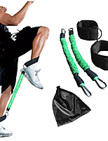 cheap -Exercise Resistance Bands 4 pcs Sports Mixed Material Fitness Workout Protector Lightweight Resistance Training For Leg
