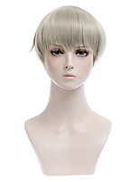 cheap -curse back to war dog curl spines cosplay wig juvenile short hair cos anime factory spot wholesale