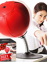 cheap -Desktop Punching Bag Gag Gifts for him - Stress Buster Relief Free Standing Desk Table Boxing Punch Ball Suction Cup Reflex Strain and Tension Toys for Boys Him Father Kids