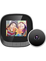 cheap -ESCAM C16 intelligent visual peephole electronic peephole doorbell with internal memory cross-border anti-theft doorbell