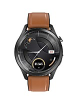 cheap -E10 Smartwatch Fitness Watch IP68 Heart Rate Monitor Blood Pressure Measurement Body Temperature Test ECG+PPG Pedometer Call Reminder 46mm Watch Case for Android iOS Men Women / Sleep Tracker