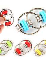 cheap -6 Pieces Decompression Chain Key Ring- Stress Relief Finger Fidget Toys, Stainless Steel Bike Chain Toys to Relieve Anxiety of Teenagers, Suitable for Kids with ADD, ADHD, Anxiety, Autism